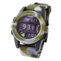 ■商品名 【NIXON】 ニクソン メンズ腕時計 THE UNIT ユニット マーブルカモ デジタル...