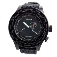 ■商品名 NIXON ニクソン 腕時計 メンズ PASSPORT パスポート アナログワールドタイム...