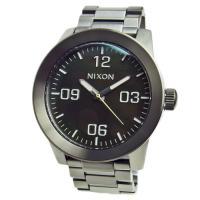 ■商品名 NIXON ニクソン 腕時計 メンズ CORPORAL コーポラル ガンメタル/グリーンオ...