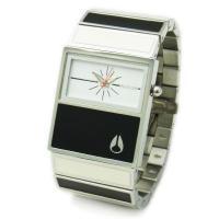 ■商品名 【NIXON】 ニクソン レディース腕時計 THE CHALET シャーレ ブラック×ホワ...