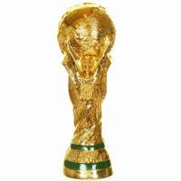ワールドカップ サッカー トロフィー レプリカ 11 pounds 36cm 原寸大 重量モデル 実物大 11ポンド サイズ 優勝トロフィー  W杯 2018 ロシア Soccer World Cup