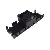 ■冷却性能を強化したファン付M.2 SSD専用ヒートシンク ■熱源をピンポイントで冷却!! ■冷却フ...