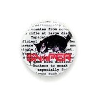 缶バッチ 猫 SNYAIPER ネコ ねこ 猫柄 雑貨 SCOPY スコーピー  直径31mmの缶バ...