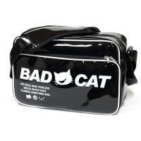 バッグ 猫 BAD CAT - ブラック ネコ ねこ 猫柄 雑貨 エナメルバッグ SCOPY スコー...