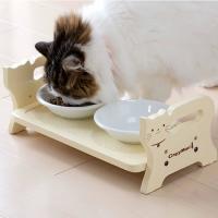 老猫さんになるとかがんで食べるのが辛そうな時があります。そんな猫ちゃんに少しでも負担がないように、こ...