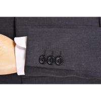 夏物 激安 ビジネススーツ /2つボタン ノータックストレートパンツ(14112001-08)