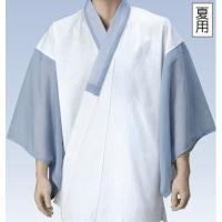 抗菌防臭加工済みの、夏用の男物半襦袢です。 身頃の品質:(抗菌さらし天竺)綿100% 袖・半衿の品質...