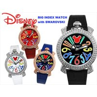 DISNEY ディズニー 大人気 ウォッチコレクション  ミッキー ゴージャス マルチカラー 腕時計...