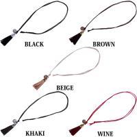 レザー ネックレス メンズ ネックレス タッセル ネックレス レザー 革
