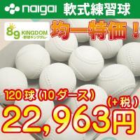 まとめ買い特別価格です。練習には是非この高品質な練習用ボールをご利用下さい。公認国産メーカーナイガイ...
