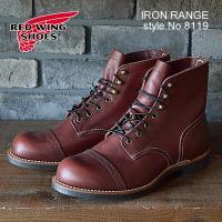 《IRON RANGE/アイアン レンジ》 スティール・トゥの安全靴が開発される以前、危険を伴う作業...
