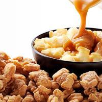 """北海道産のもち米を60%使用した、サクサクの美味しい【おかき】に、花畑牧場独自の""""しみ込みリッチ製法..."""