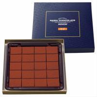 ロイズの生チョコレートの代表作[オーレ]。こだわりのミルクチョコレートと北海道産の生クリームを使って...