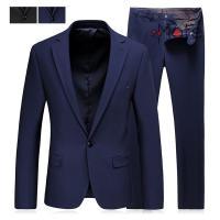 スーツ セットアップ メンズ 夏 2ピーススーツ ビジネススーツ フォーマル 無地 1つボタン ファ...
