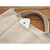 MOUNTAIN DA CHERRY マルチトートS multi tote S 帆布と豚革が使われた洗濯可能なバッグ