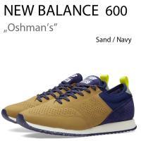 商品名:New Balance Oshmans 600 Sand / Navy ニューバランス CM...