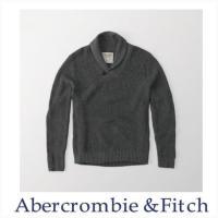 Abercrombie&Fitch アバクロ メンズ ショールカラーセーター ニット Sha...