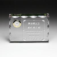 素材 ホログラム加工付きクリスタルガラス 加工方法:サンドブラスト加工 商品サイズ:(小)H95×W...