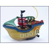 君も今日から海賊船長!小さいながら、かわいい海賊船デザインのラジコン船です!前後左右のフルファンクシ...