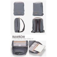 ロウロウ バックパック RAWROW メンズ レディース 2WAY BAG 521 WAX COTNA 13 2ウェイバッグ 521 ワックス コトナ グリーングレー ネイビー キャメル バッグ