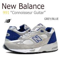 【送料無料】New Balance 991/Connoisseur Guitar/BLUE/GREY...