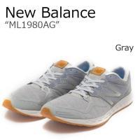 【送料無料】New Balance ML1980AG/グレー【ニューバランス】【ML1980AG】 ...