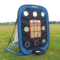 集球ポケット付きで面倒なボール拾いが不要。専用キャリーバッグ付きで持ち運びにも便利なネットです。