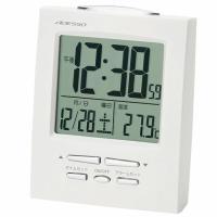 目覚まし時計 小型電波時計 トラベルクロック (AD-ME-180)●サイズ/ 高さ8.9×幅7.0...