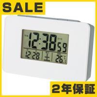 目覚まし時計 小型 電波時計 (AD-SN-01)●サイズ/ 高さ6×幅9.5×奥行3.5cm 重さ...