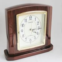 【 SALE在庫限り30%OFF 】CITIZEN シチズン パルロワイエR 高級電波時計 置き時計...