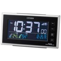 シチズン CITIZEN 置き時計 デジタル 温湿度 パルデジットネオン121 (8RZ121-00...