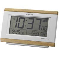 シチズン CITIZEN 目覚まし時計 デジタル 温湿度 パルデジットキング (8RZ161-007...