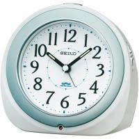 SEIKO(セイコー) 目覚まし時計 アナログ 電波時計 KR331W●サイズ/ 128×135×8...