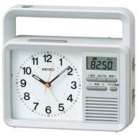 SEIKO(セイコー) 置き時計 アナログ 防災クロック KR885N●サイズ/ 154x170x6...
