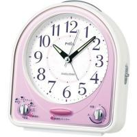 SEIKO(セイコー) 目覚まし時計 アナログ PYXIS NR435P●サイズ/ 136×129×...