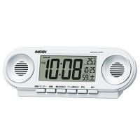SEIKO セイコー RAIDEN(ライデン) 目覚まし時計 電波時計 デジタル 大音量 NR531...