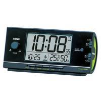 SEIKO セイコー RAIDEN(ライデン) 目覚まし時計 電波時計 デジタル 大音量 NR534...