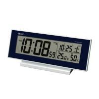 SEIKO(セイコー) 置き時計 デジタル 電波時計 SQ762L ●サイズ/ 83×206×50m...