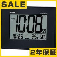 SEIKO(セイコー) 掛け時計 デジタル 掛置兼用 電波時計 SQ770K●サイズ/ 掛けた状態:...