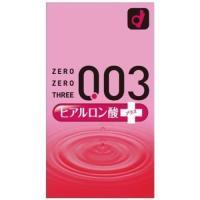 コンドーム オカモト 003 ゼロゼロスリー ヒアルロン酸プラス 2000 10個入|aaa83900