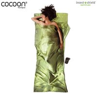 COCOON コクーン Insect shield サファリトラベルシーツ シルク ヴァイン