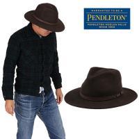 PENDLETON ペンドルトン インディーハットはコンパクトな形ですのでアクティブな方などに愛用し...
