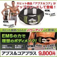 ■商品名 ジムフォームアブス&コアプラス ■素材 コントローラー:ABS、シリコンベルト:PVC、P...