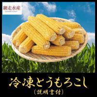 冷凍とうもろこし 10本入 /食べ方説明書付 便利 北海道産 とうきび 新鮮 屋台 バーベキュー 行楽 キャンプ