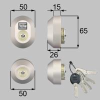 DDZZ3004  MC-0478 トステム玄関ドア用交換用シリンダー