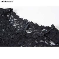 ワンピース ドレス 透け感 花柄 総レース 五分袖 パーティー 体型カバー タイト ひざ丈 レディース 大きいサイズ L/2L/3L/4L/5L/6L