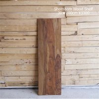 SIZE W100xD30xH1.5cm  MATERIAL  シーシャムウッド  木目の出方など ...