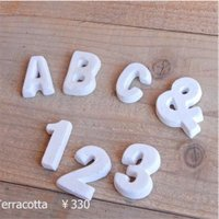 SIZE W2〜5.5xD1.2xH5cm  幅は文字によって異なります  ハンドメイドの為、 サイ...