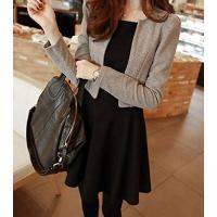 ◆カラー:グレー  ◆特徴:  セットできちんとした印象のセットワンピースはオフィスでの一着としても...