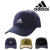 フロントパネルのadidasのロゴ刺繍とシンプルな無地の帽体です。  この製品は吸湿性に優れ、水分を...